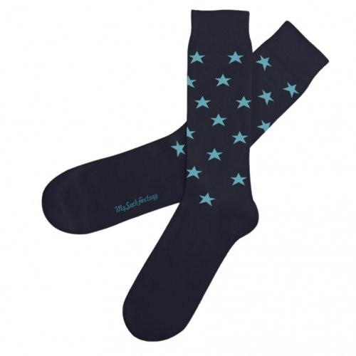 chaussettes-colorees-motifs-etoiles-magic-night