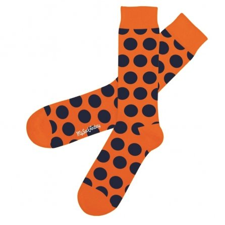 wacky-orange-polka-dot-socks-psycho-tandoori