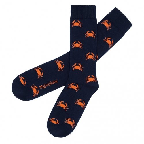 awesome-navy-patterned-socks-crab-sac-de-crabe