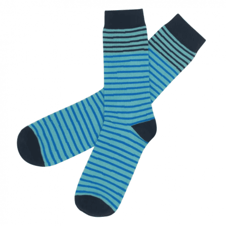 stripes_pattern_turquoise_line_socks