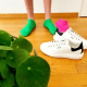 funky-green-socks-mini-green-grass-cotton