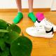 socquettes-unies-vert-mini-green-grass-coton