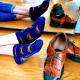 jolies-socquettes-bleues-motifs-crabe-orange-sac-de-crabe
